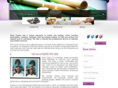 Body Classic Website Redesign