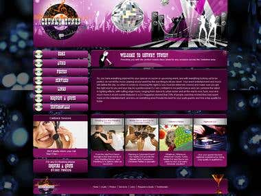Complete design and development of a musical theme