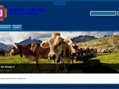 Personal webpage