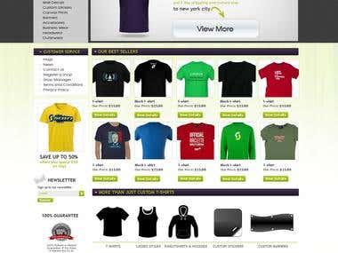 Website design for various websites 2