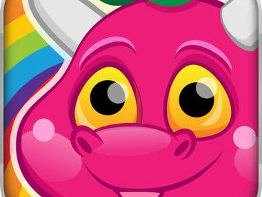 Candy Dragon : iOS and Android Kids Learning app
