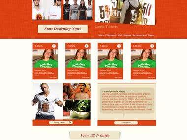 Website design for various websites 3