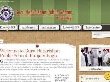 Guru Harkrishan Public School- Punjabi Bagh