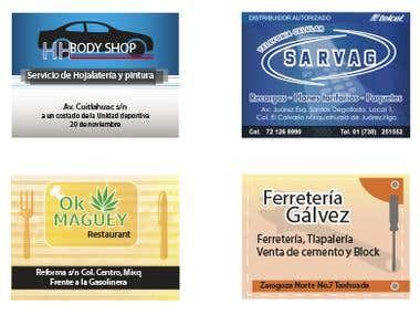 Banner Design/diseño de anuncios