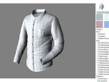 3D custom shirt designer