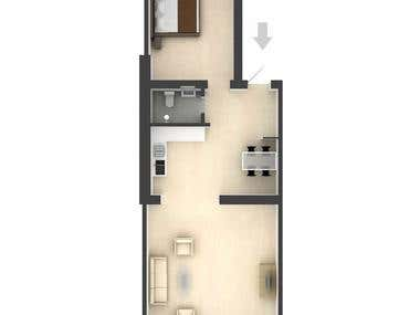 Floorplan renderings