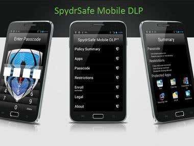 SpydrSafe Mobile DLP