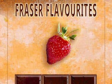 Fraser Favourites Cook Book cover illustration.