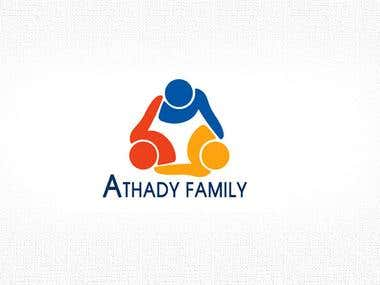 A family group of company logo