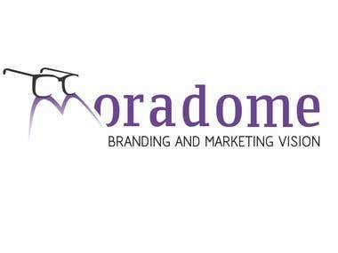 Logo for MoradoME, branding and marketing company.