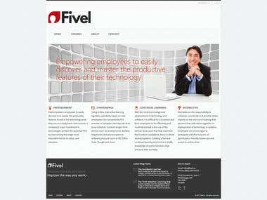 Fivel website project