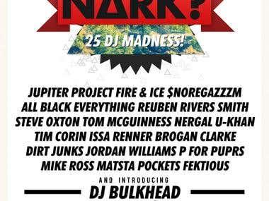 Nark Flyer Design