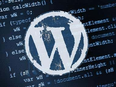 Wordpress (PSD to Wordpress)