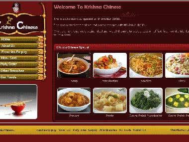 For Online fast food order website