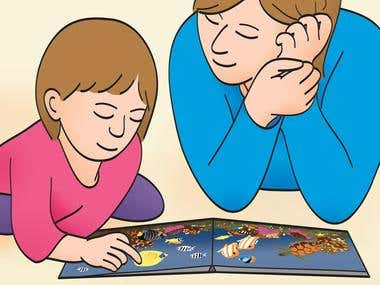 Illustration - Parenting