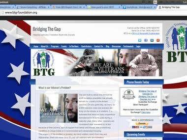 Bridging The Gap Website