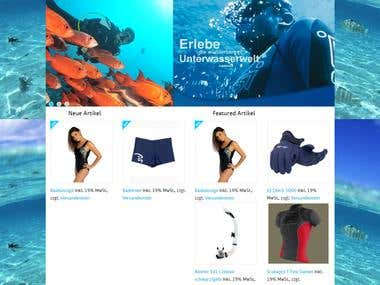 Happy Divers Homepage