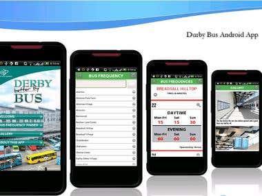 Derby Bus App