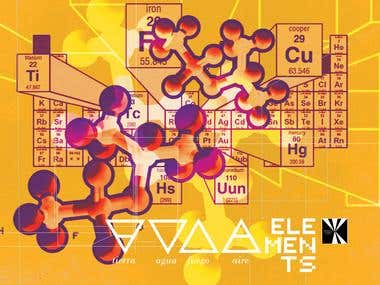 Cover Artwork For Electronic Music