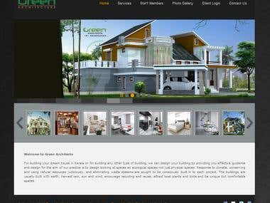 Joomla customization work for a Architect