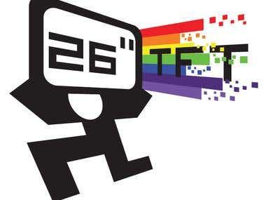 26'' TFT Logo