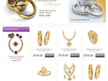 LSJewellers - Online Shopping Cart