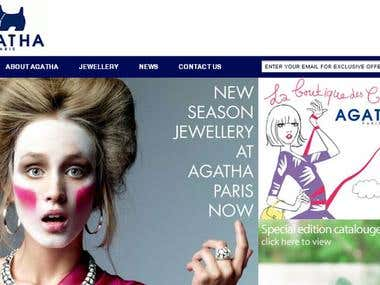 AGATHA Paris Fashion Jewellery Online Boutique