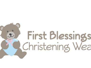 Logo Design  - First Blessing Christening Wear
