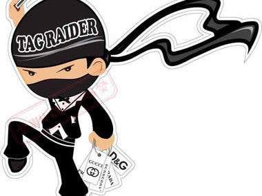 Logo Design for Tag Raiders