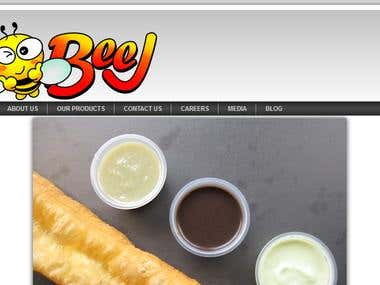 Website for Restaurant