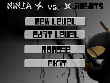 Ninjas vs Robots - Level builder