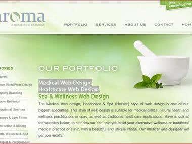 www.aromawebdesign.com