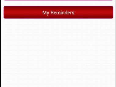 Calendar Reminder App