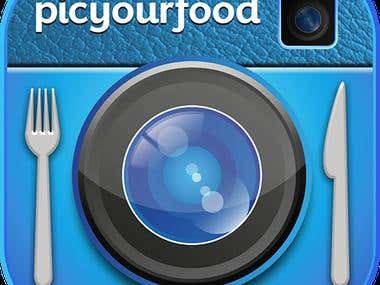 PicYourFood: Social Networking, Client Server Communication