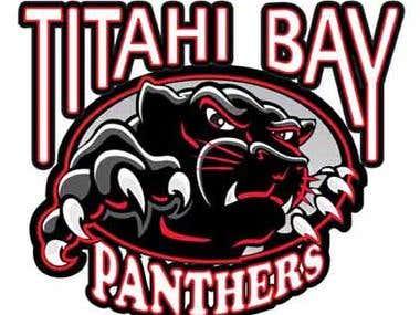 Logo Design for Titahi Bay Panthers