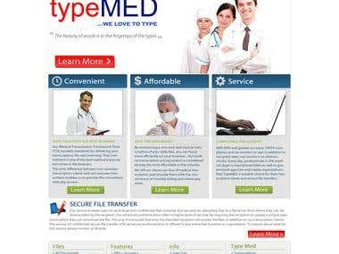 Website Design For Typemed.ca
