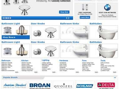 complete home shopping site