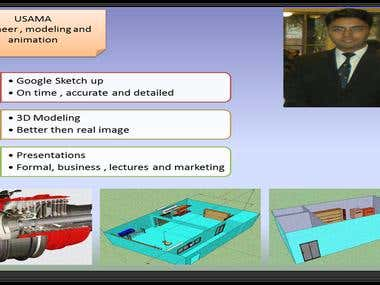 Engineering modeling and animation