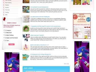 online e commerce web site