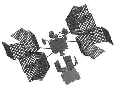 SATELLITE DESIGN FOR ISRO
