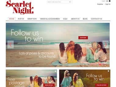 Scarlet Night Boutique