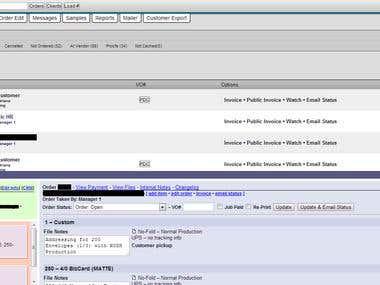 Custom Print Shop software