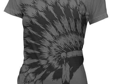 T-Shirt Design For ebonyte clothing co