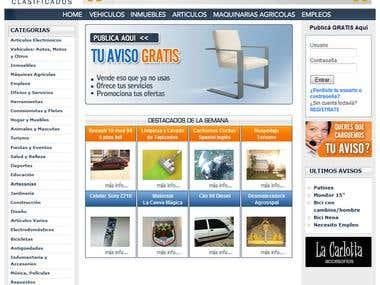 Tu Zona Clasificados - Website
