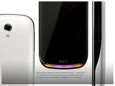 Smart phone design, Korea 2011
