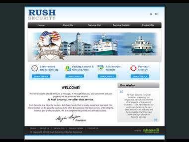 Rush Security Service
