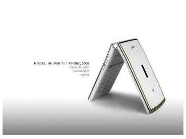 'TILT' Phone, Pantech, SKY 2009