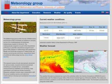 Meteorology group