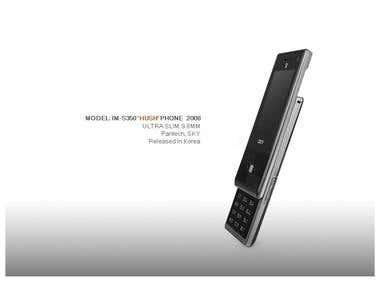 'HUSH' PHONE, Pantech, SKY 2008