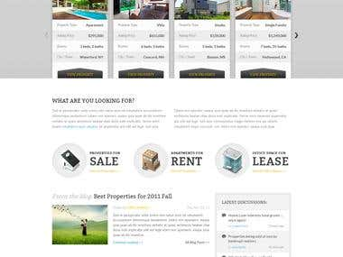 ITPL real estate website and MLM software development